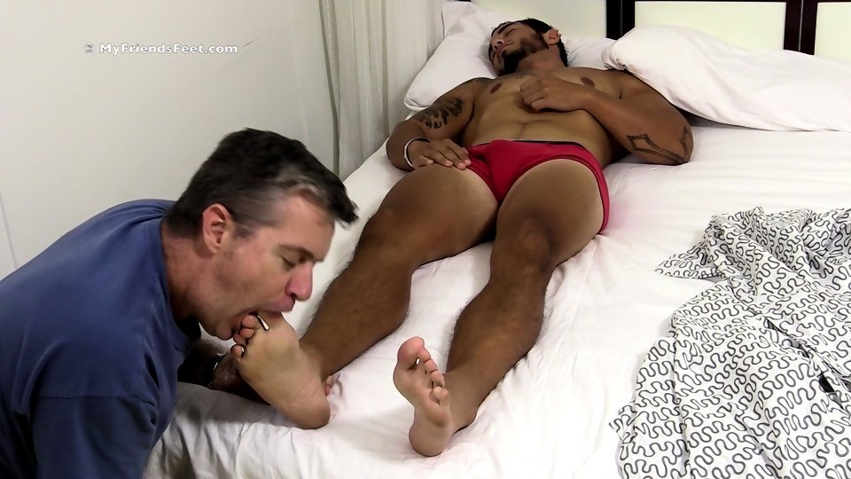 Gay bareback interracial feet first time 8