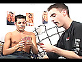 Guys with Toys: Allan, Cedrik and Johnny: Jock Insertion Threesome