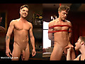 Men on Edge: Bi hunk Lucas Knight's enormous cock is aching to cum