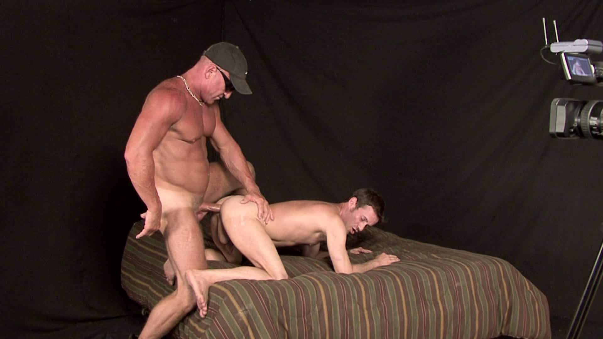 image Straight male cumshot gay round ass on the