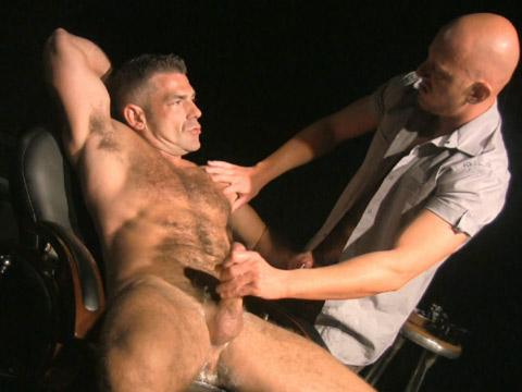 Pierced black savvy with bottom plug spanking