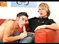 Male Digital: Blonde twink and his friend suck cock and gets ass pounding