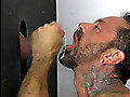 21 y.o. Nate tries using a gloryhole for the rough release he needs