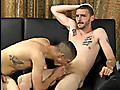 Straight Fraternity: Straight buddies suck cock and jack off together, including a cum facial