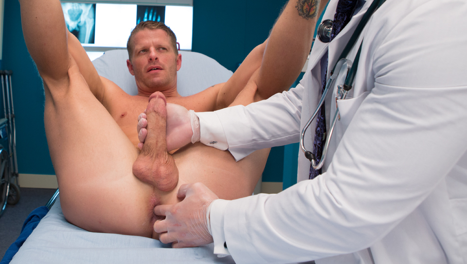 Special army gyno exam for hot busty blonde 4