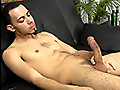 Straight Fraternity: Big cummer Bronson Stone jacks his thick cock with satisfaction