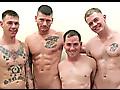 ManHub: DJ, Dorian, Jack & Ransom from The Frontline 2