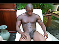 Man Avenue: Hot and Sexy Muscle Stud Brian Bodine Jerking Off Outside