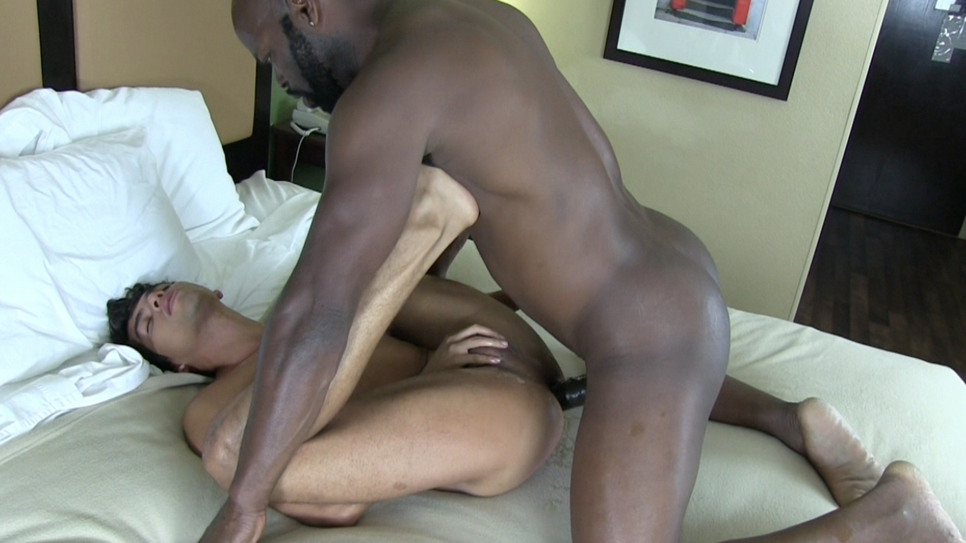 Black Dude Wanking His Big Pole
