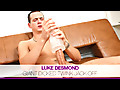Eurocreme: Giant Dicked Luke Desmond Jack-off