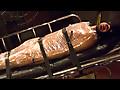 Mummification: (mum'i-fi-ca'tion) n. Make or become a mummy