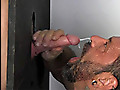 20-year-old Donny Forza stops by the gloryhole to drain his balls